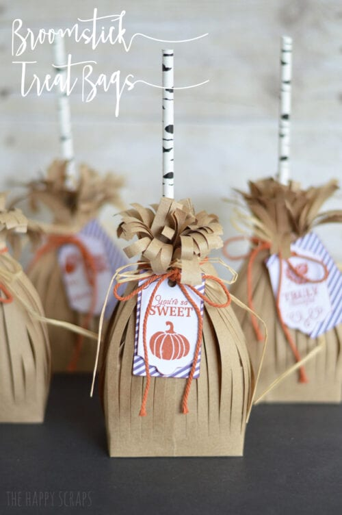 Broomstick Treat Bags