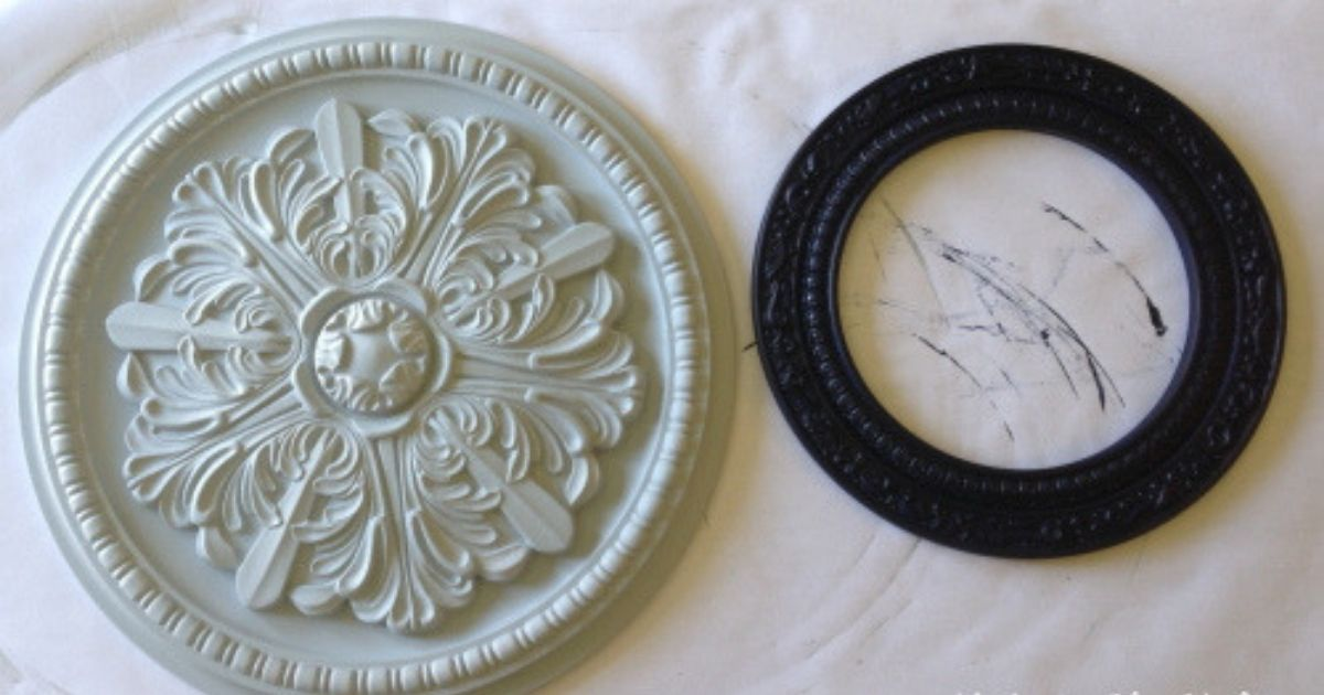 How To Make Painted Medallions Wall Decor The Crafty Blog Stalker
