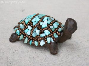 How to Make a Little Slowpoke Turtle Decor