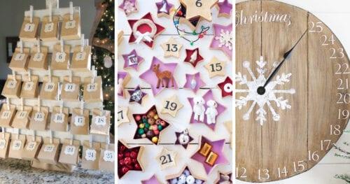 Christmas Advent Calendars DIY 2