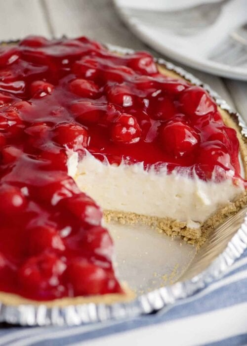 cream cheese cherry pie
