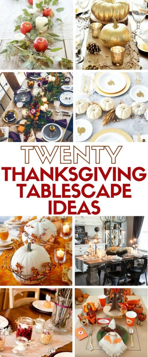 Create beautiful table decor for your perfect Thanksgiving dinner. Simple DIY craft tutorial ideas for an amazing holiday tablescape.