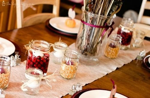 20 Decorating Ideas for the Thanksgiving Dinner Table   Easy DIY Craft Tutorial Ideas   Tablescape   Centerpieces   Place Settings   Fall   Autumn