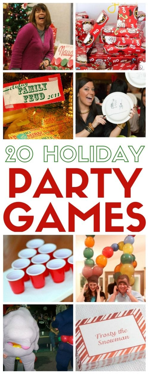 Christmas Family Games Holidays Group Party Game Ideas Holiday Gathering