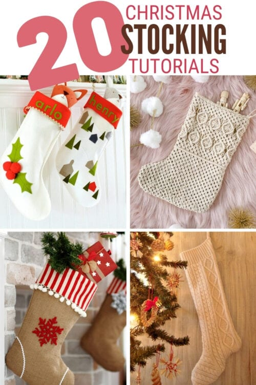title image for Christmas Stocking tutorials