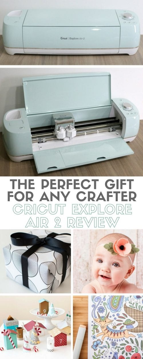 Cricut Explore Air 2 Review | Gift Ideas | eCutter | Crafts | Crafting | DIY