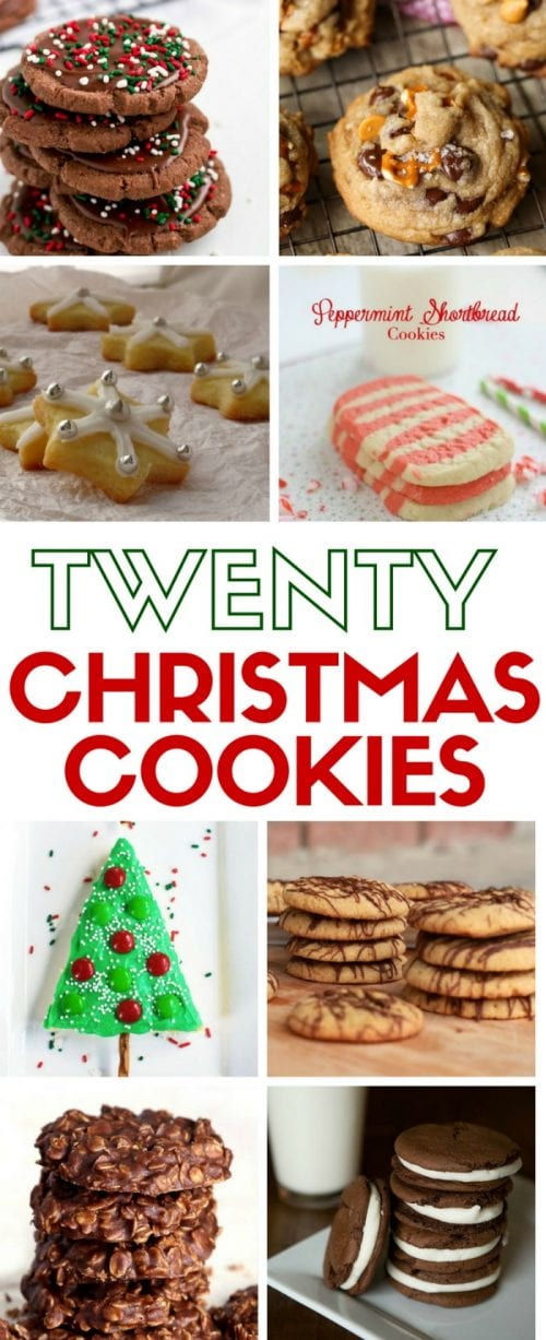 Looking for that perfect Christmas cookie recipe for Santa on Christmas Eve? These easy DIY cookie tutorials will do the trick!