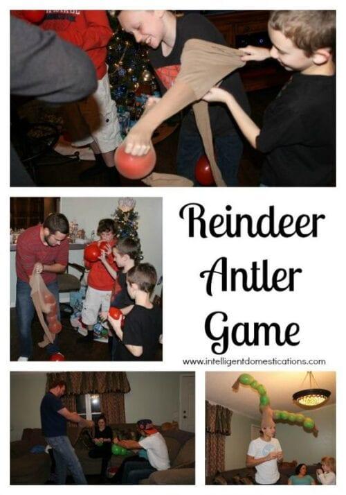 Reindeer Antlers Game
