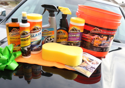Do you know someone who loves their car, or needs a reason too? Give them the Armor All Car Care Gift Pack for Christmas gift giving.