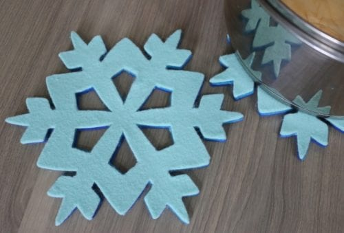 Winter Snowflake Crafts | Handmade | Home Decor | Christmas | Snow | Holidays | Easy DIY Craft Tutorial Ideas