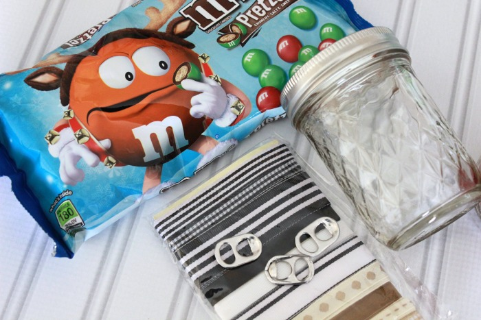 Santa Mason Jar Craft supplies