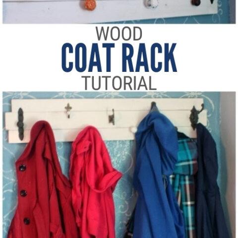 DIY Coat Rack 15