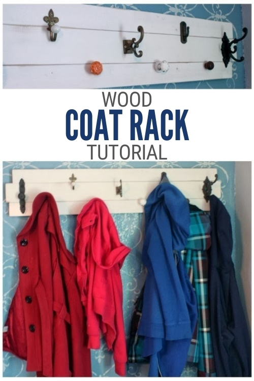 title image for How to Make a Coat Rack out of Wood