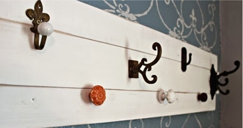 DIY Coat Rack 16