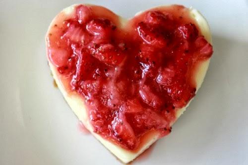 Cheesecake Hearts from www.summerscraps.com #Valentine