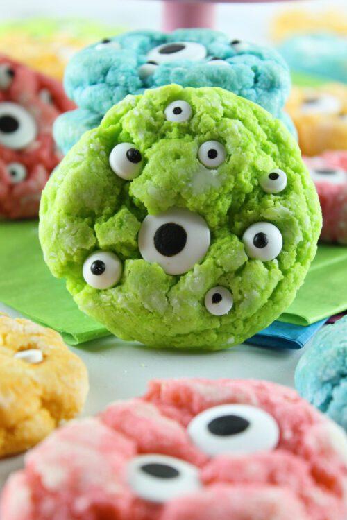 Monster Eye Cookies