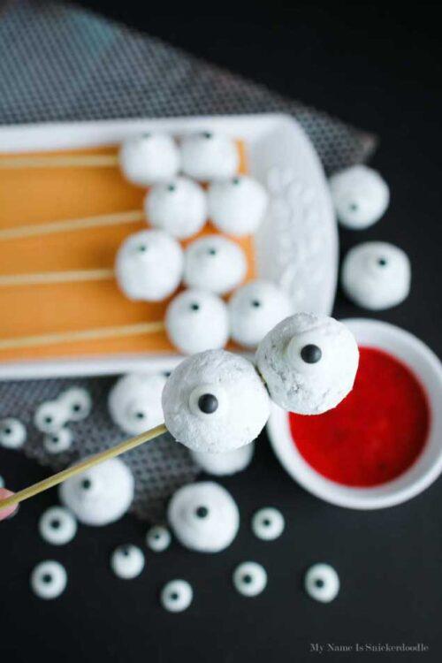 Skewered Eyeballs For A Fun Halloween