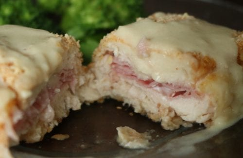 How to Make Easy Chicken Cordon Bleu with Creamy Dijon Sauce | Homemade Meals | Easy DIY Recipe Ideas | What to Serve | Dinner | Meal