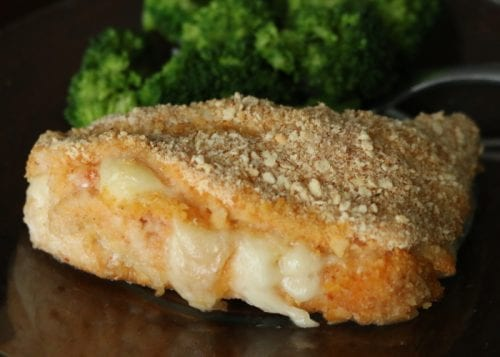 Commit to homemade meals with delicious and easy Chicken Cordon Bleu Recipe with Creamy Dijon Sauce. An easy DIY recipe tutorial idea.