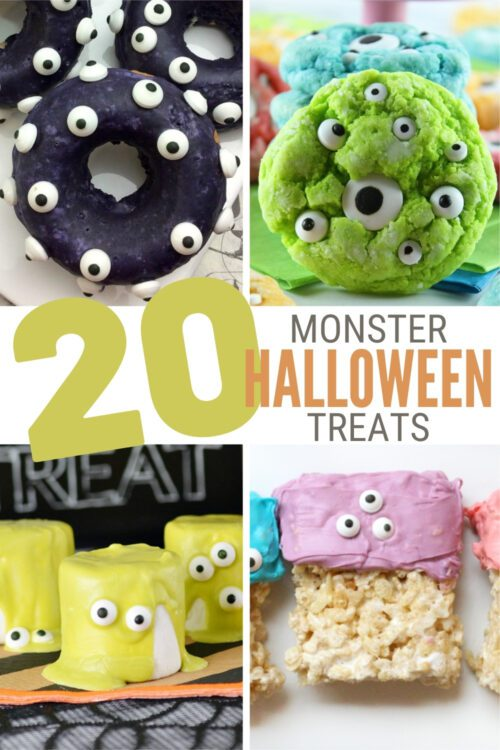 20 Monster Madness Halloween Treats for Parties