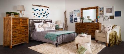 A DIY Rustic Bedroom with Cricut and Hayneedle