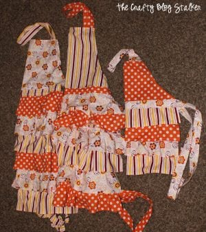 How to Sew a Ruffle Apron
