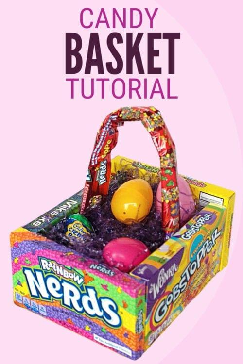 Candy Easter Basket title image