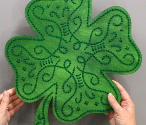 Stitch of Luck | Apostrophe S Craft Kit | Shamrock | Lucky | Decor |DIY | St. Patrick's Day Decor