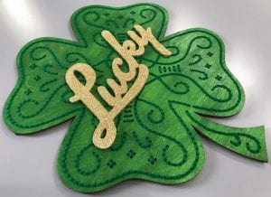 How to Make Stitch of Luck St. Patrick's Day Decor