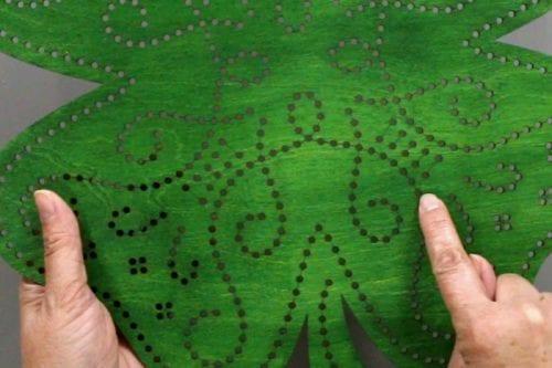 Stitch of Luck | Apostrophe S Craft Kit | Shamrock | Lucky | Decor |DIY | St. Patrick's Day Decor