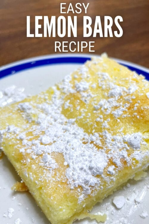 title image for How to Make Easy Lemon Bars with a Cake Mix