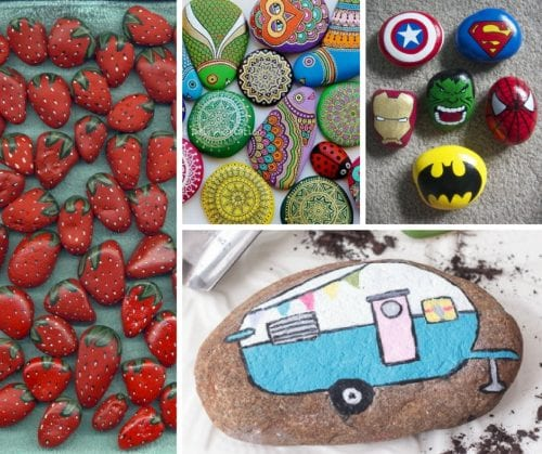 20 of the Best Painted Rock Art Ideas, You Can Do!