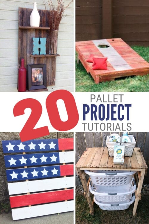 title image for 20 DIY Pallet Projects with Instructions