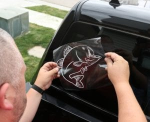 Big Mouth Bass | Lucky Tackle Box | Car Window Decal | Cricut Explore | Vinyl | Gift Idea | DIY | For Dad | Father's Day