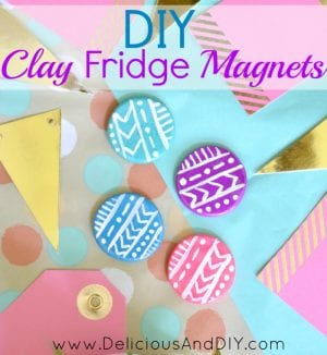 How to Make Clay Fridge Magnets