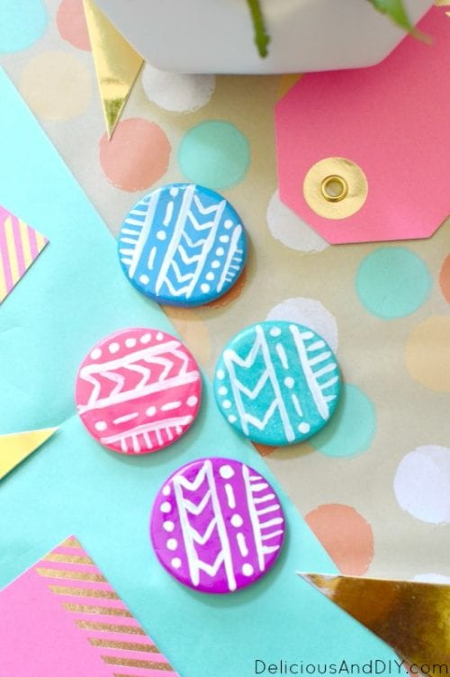 how to make clay fridge magnets the crafty blog stalker