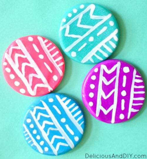 Clay Fridge Magnets Tutorial | Oven Bake Clay | Craft Ideas | DIY