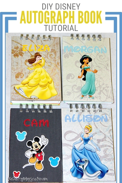 title image for How to Make a Disney Autograph Book with Kid Activities
