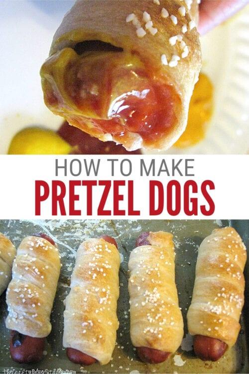title image for How to Make Pretzel Dough for Pretzel Dogs