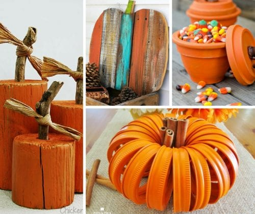 Pumpkin Craft Tutorials | Pumpkins | Fall | Autumn | Halloween | Thanksgiving | Home Decor