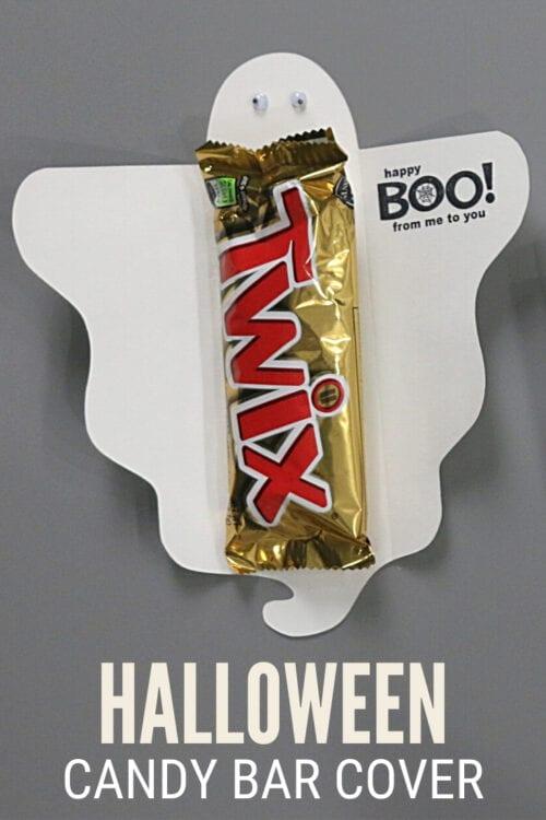 Titelbild für Wie man einen Halloween-Leckerbissen-Schokoriegel-Umschlag macht
