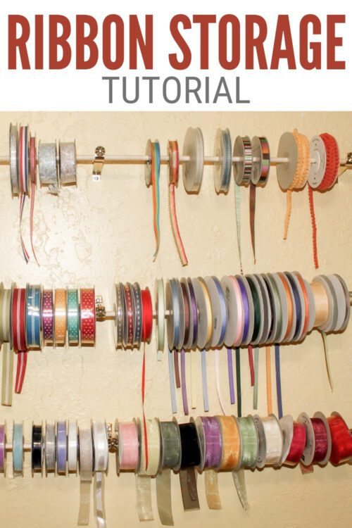 Title image for How to Make Ribbon Roll Storage