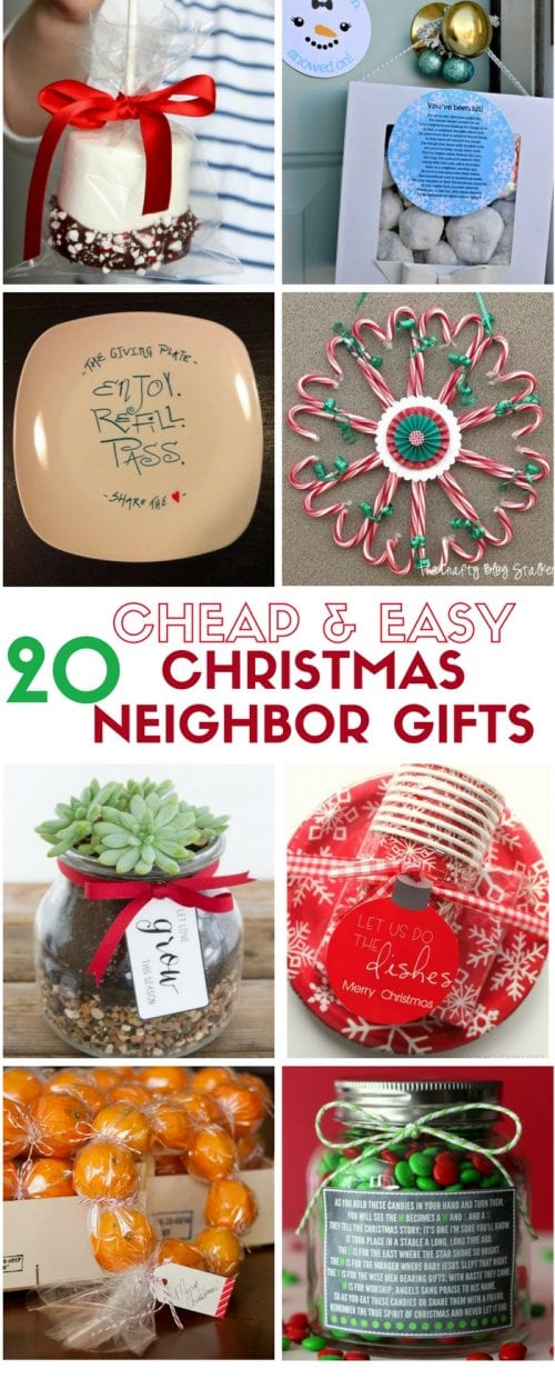Cheap and Easy DIY Christmas Neighbor Gifts | Holidays | Craft Tutorial Idea | Handmade Gift