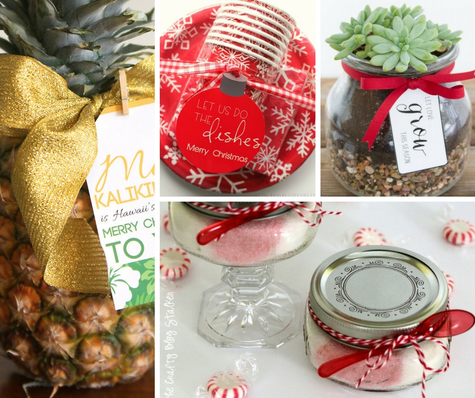 Simple Cheap Christmas Gifts: 20 Cheap And Easy DIY Christmas Neighbor Gifts