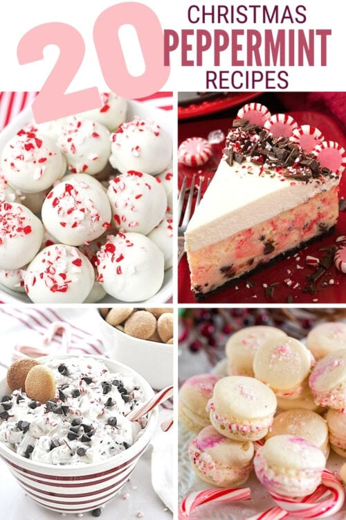 title image for 20 Christmas Peppermint Recipes