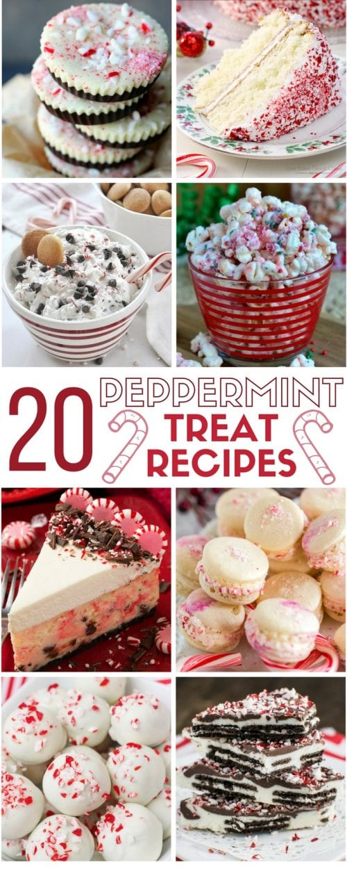 Peppermint Treat Recipe Ideas | Dessert Recipes | Christmas | Holiday | Easy DIY Recipe Tutorial Idea