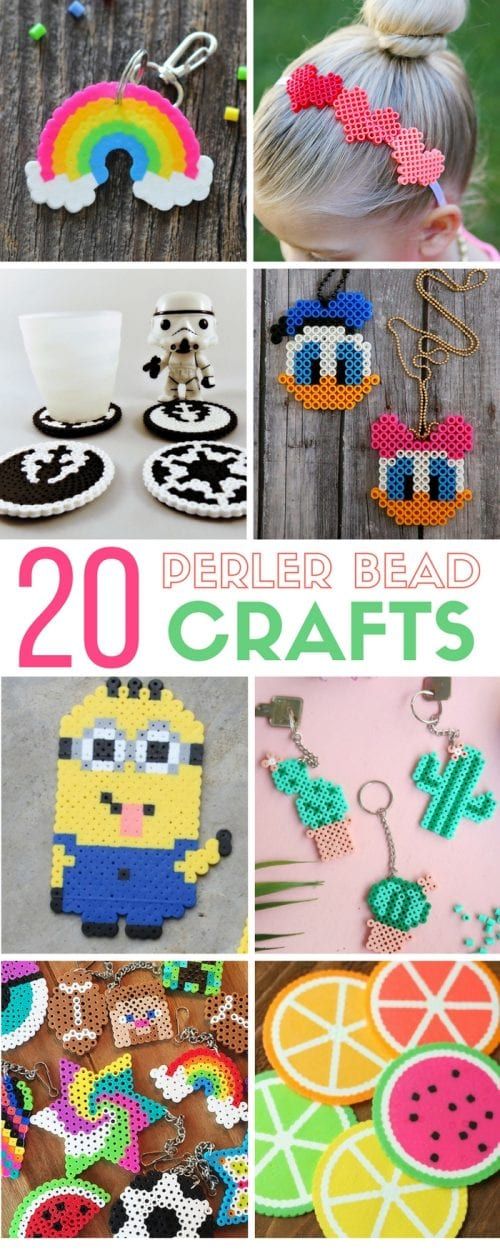 20 Fun Free Patterns For Perler Bead Crafts The Crafty Blog Stalker