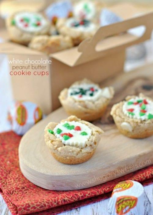40 Delicious Cookie Cup Recipes | Sugar Cookies | Chocolate Chip | Handmade | Entertaining | Easy DIY Dessert Recipe Tutorial Ideas