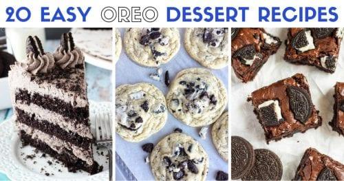 20 of the Best Oreo Dessert Recipes