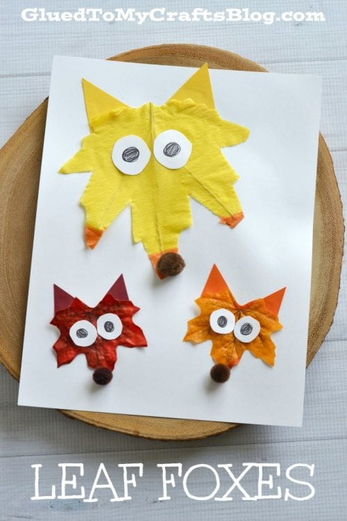 20 Craft Ideas With Fall Leaves Page 3 Of 4 The Crafty Blog Stalker